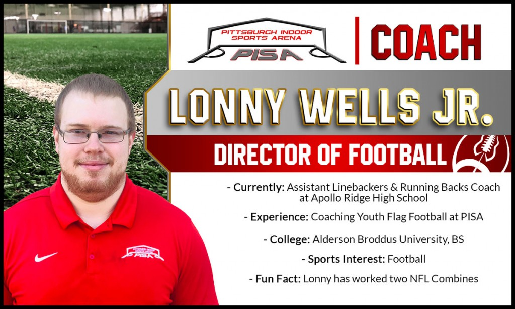 PISA Football Coach - Lonny Wells Jr.